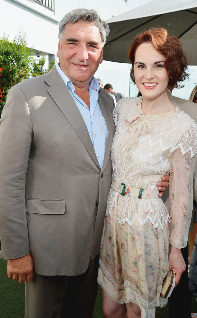 Jim Carter, Michelle Dockery