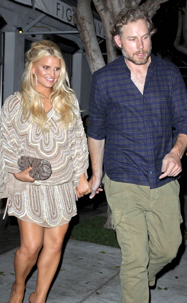 Jessica Simpson And Eric Johnson S Road To The Altar A