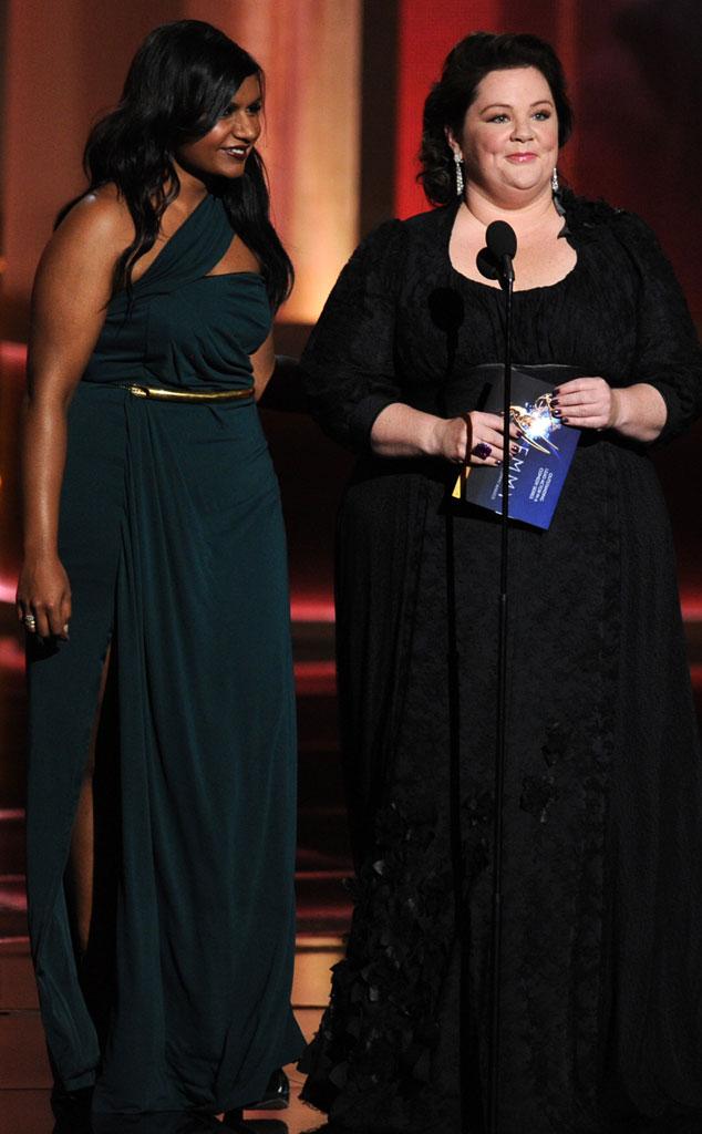 Emmy Awards, Mindy Kaling, Melissa McCarthy
