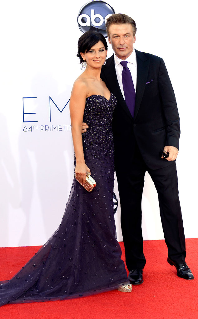 Emmy Awards, Alec Baldwin, Hilaria Thomas