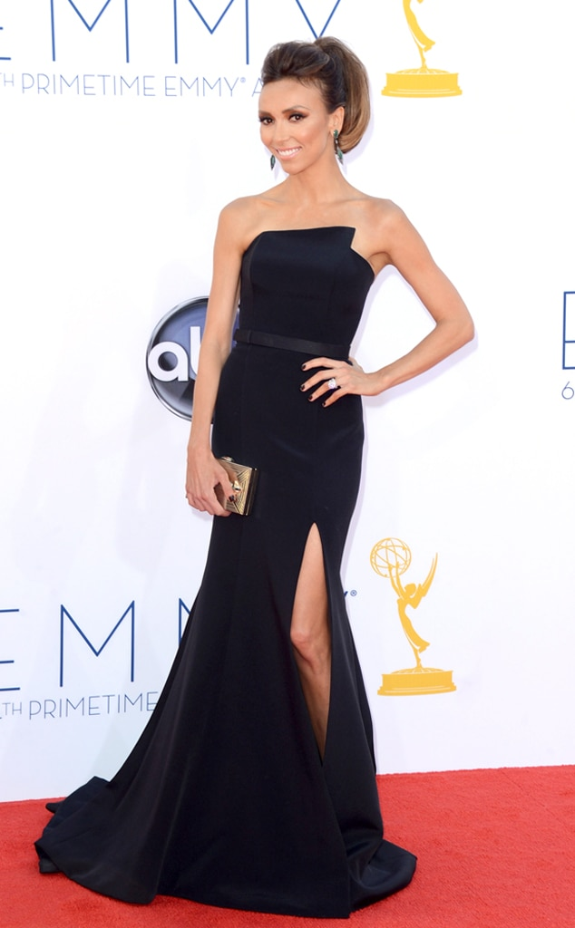 Emmy Awards, Giuliana Rancic, 2012