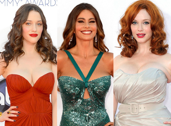 Christina Hendricks, Kat Dennings, Sofia Vergara