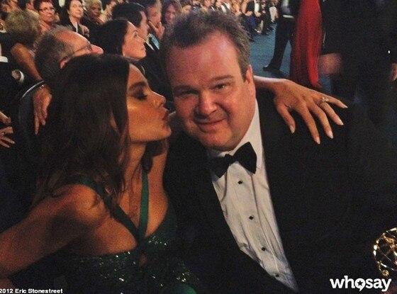Emmy Twit Pics, Eric Stonestreet