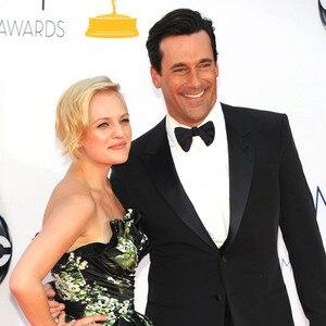Emmy Awards, Jon Hamm, Elisabeth Moss