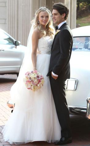 Justin Gaston, Melissa Ordway