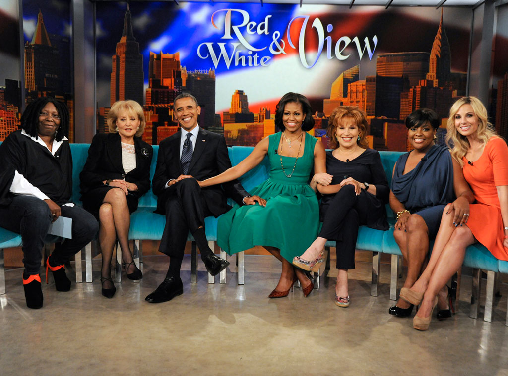 President  Barack Obama, Michelle Obama, The View