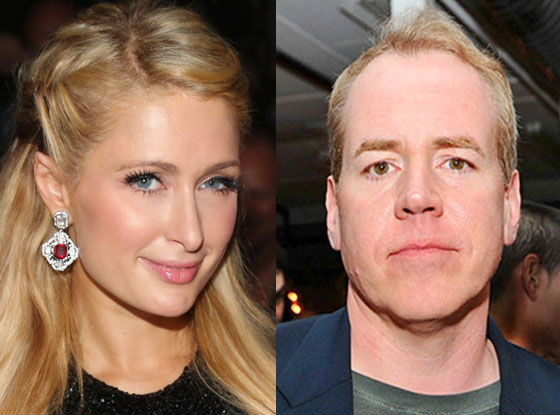 Paris Hilton, Bret Easton Ellis