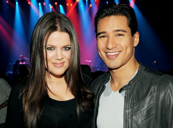 Khloe Kardashian Odom, Mario Lopez