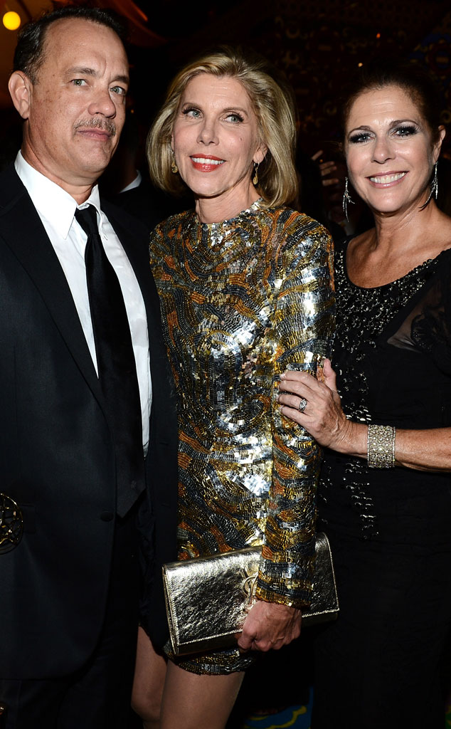 Tom Hanks, Christine Baranski, Rita Wilson