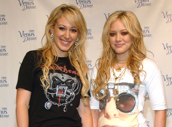 Hilary Duff, Haylie Duff