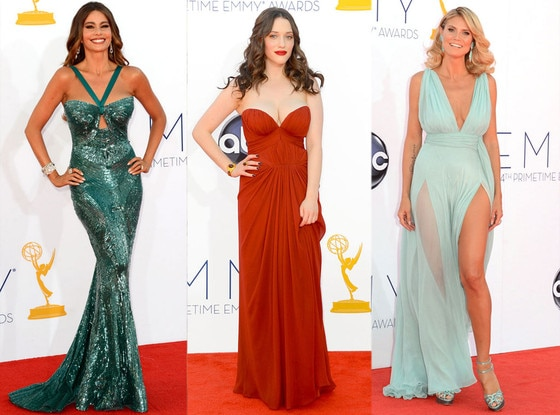 Emmy Awards, Heidi Klum, Kat Dennings, Sofia Vergara