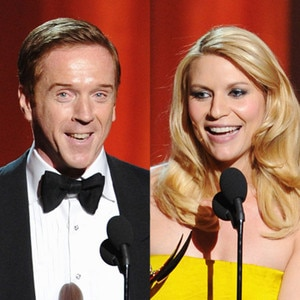 Claire Danes, Damian Lewis, Emmy Awards