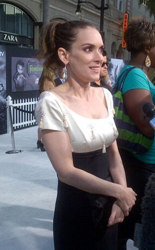 Winona Ryder, Twit Pic