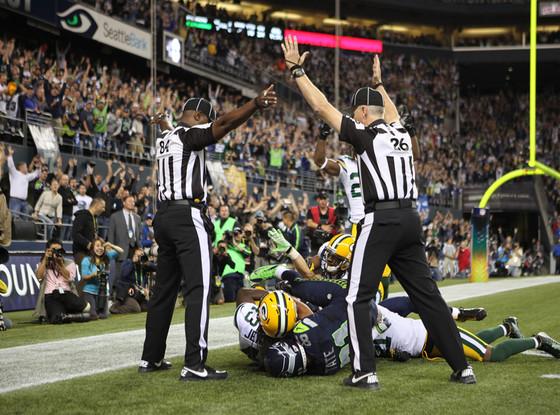 Greenbay Packers, Seattle Seahawks, Referee