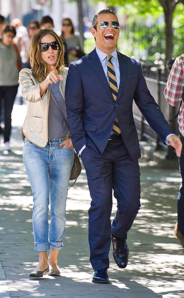 Sarah Jessica Parker, Andy Cohen