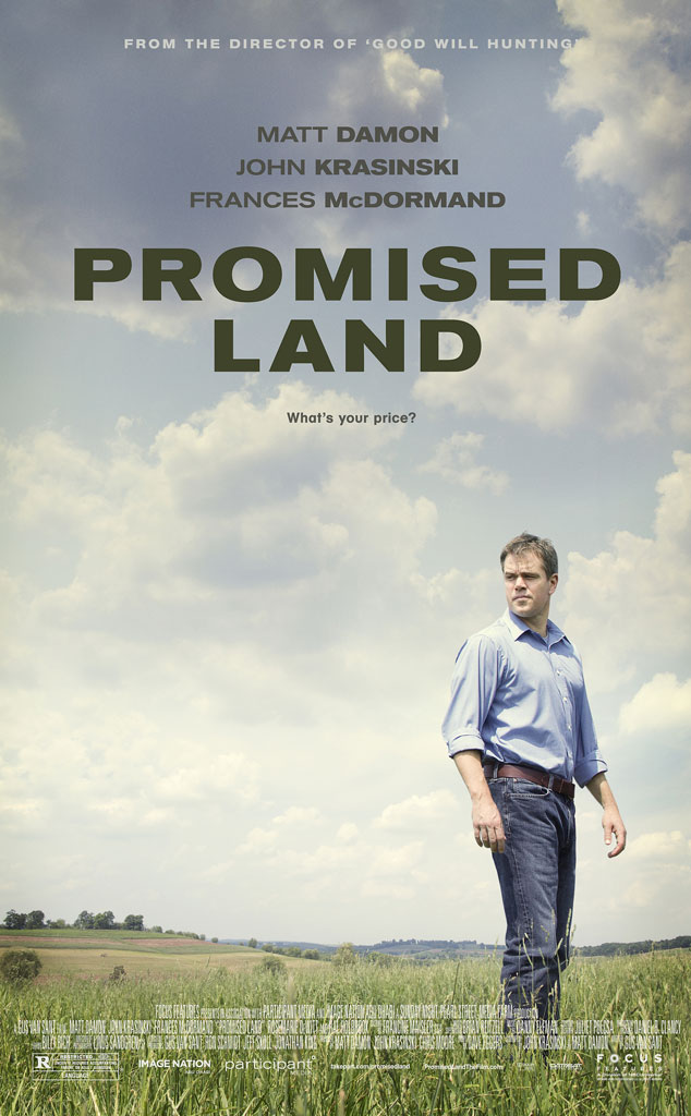 Promised Land, Poster, Matt Damon