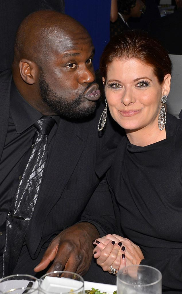 Shaq, Debra Messing