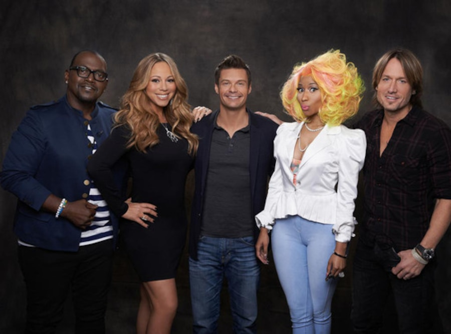 American Idol, Randy Jackson, Mariah Carey, Ryan Seacrest, Nicki Minaj, Keith Urban