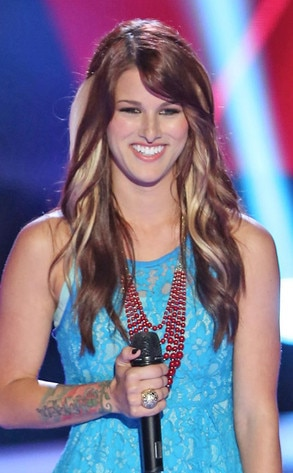 Cassadee Pope, The Voice