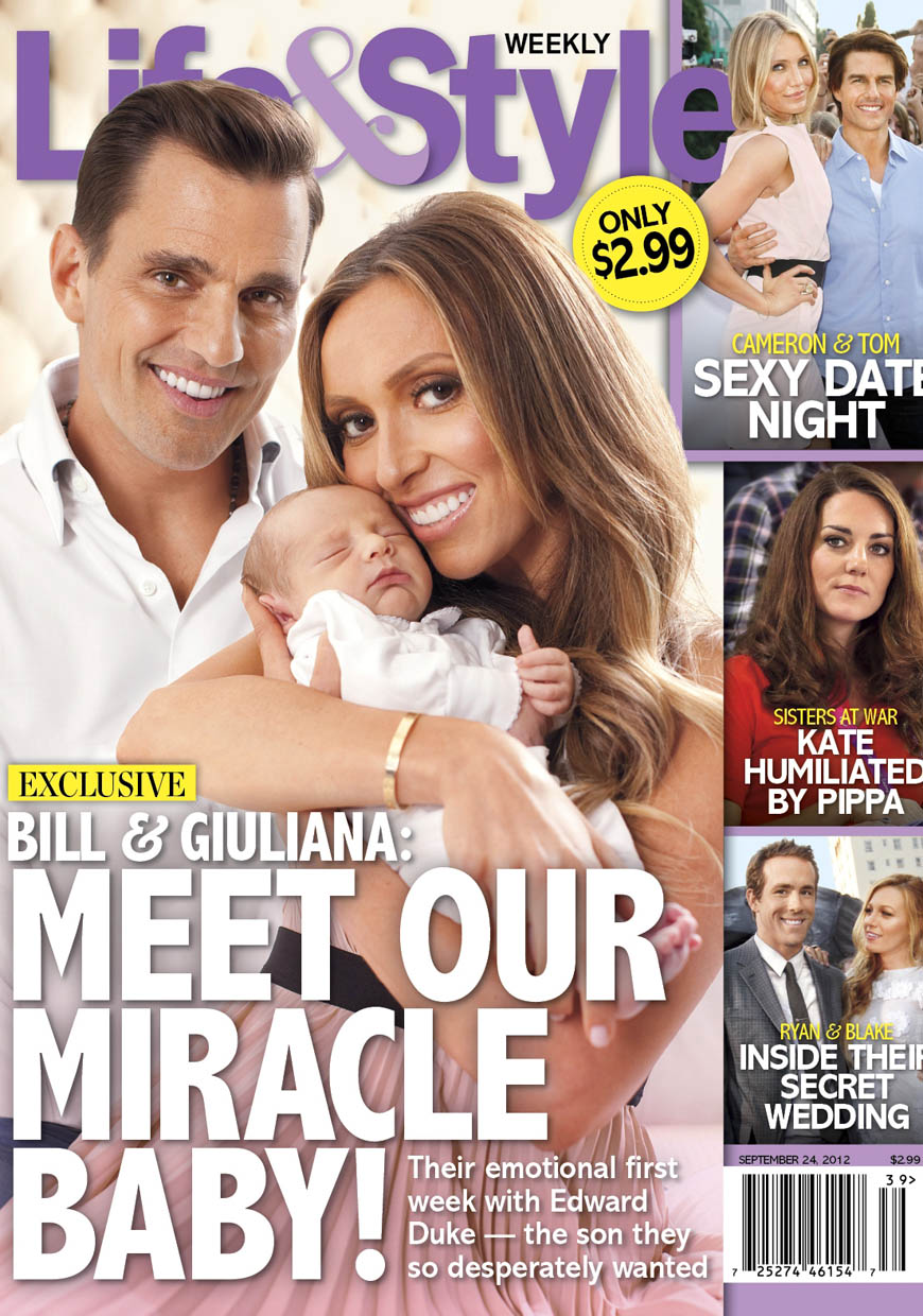 Life & Style - Giuliana, Bill, & Duke Rancic