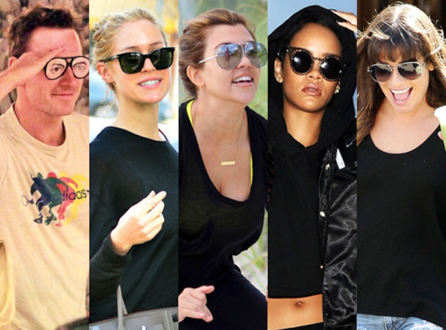 Week in Pictures, Stars in Sunglasses