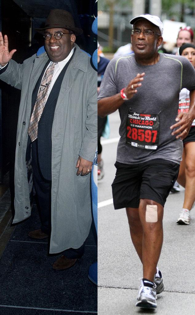 al roker from celebrity weight loss