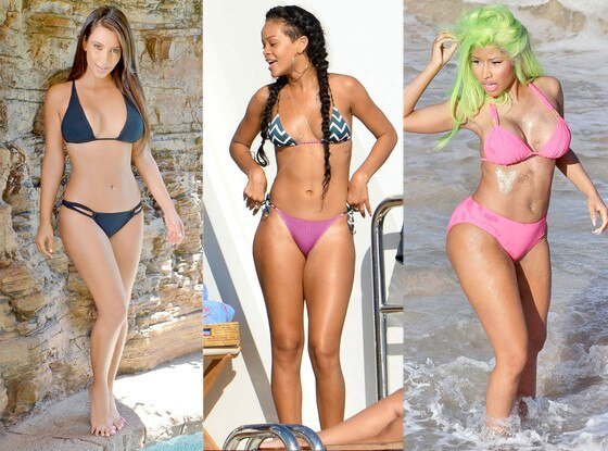 Kim Kardashian, Rihanna