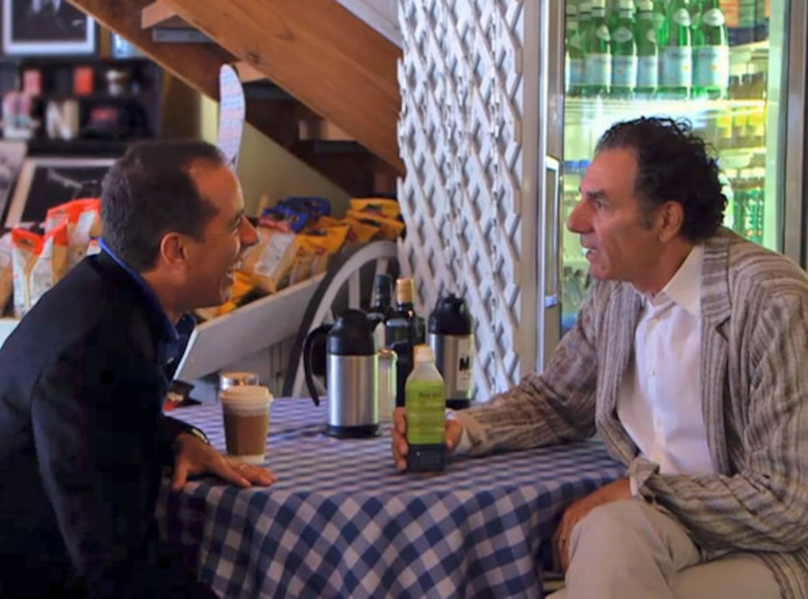 Jerry Seinfeld, Michael Richards, Comedians in Cars Getting Coffee