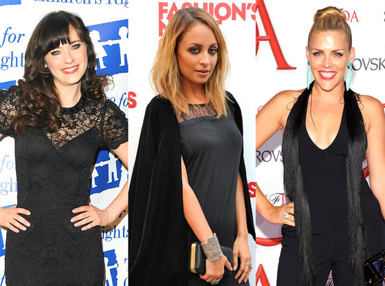Zooey Deschanel, Nicole Richie, Busy Philipps