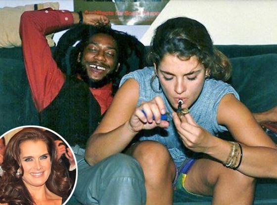 Brooke Shields, Smoking Pot, Twitter