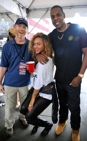 Ron Howard, Beyonce Knowles-Carter, Jay-Z