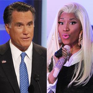 Nicki Minaj, Mitt Romney