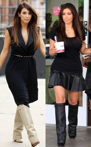 Kim Kardashian, Givenchy boots