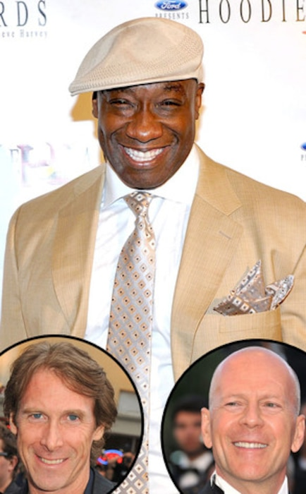 Michael Clarke Duncan, Bruce Willis, Michael Bay