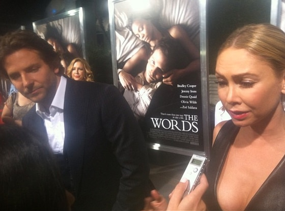 Bradley Cooper, Kym Johnson, Words