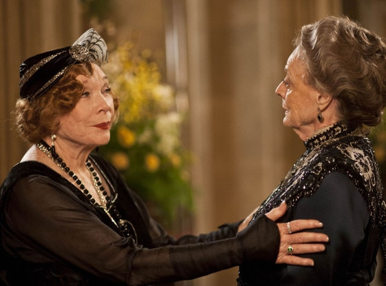 Shirley MacLaine, Maggie Smith, Downton Abbey