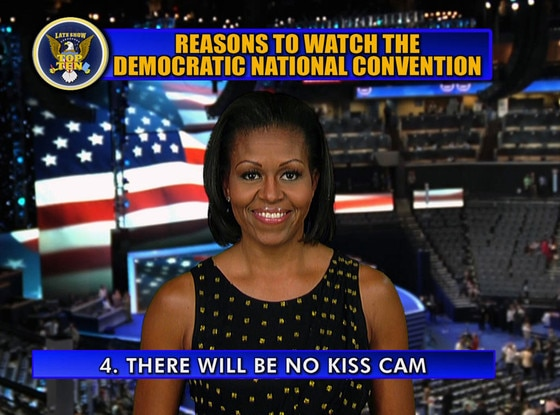 Michelle Obama, Letterman, Top 10