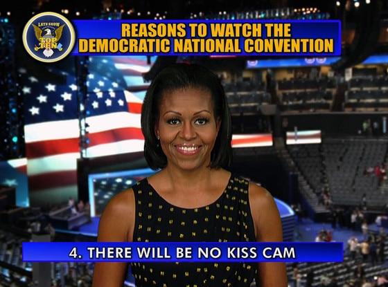Michelle Obama, Letterman, Top 10