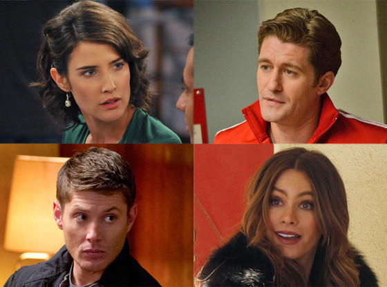 Sofia Vegara, Modern Family, Jensen Ackles, Supernatural, Matthew Morrison, Glee, Cobie Smulder, How I Met Your Mother