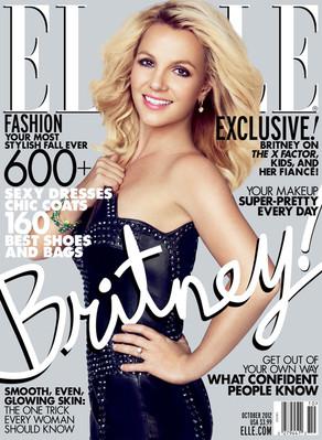 Britney Spears, Elle Magazine Cover