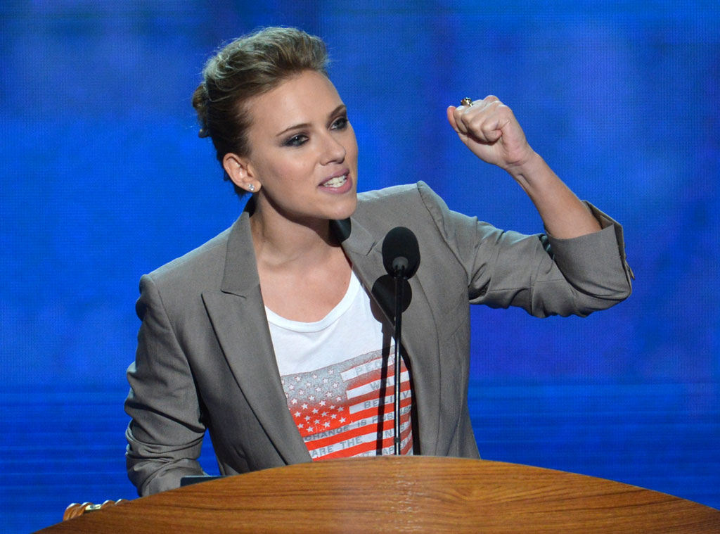 Scarlett Johansson, Democratic National Convention