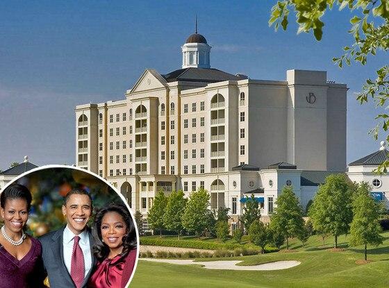 Ballantyne Hotel, Barack Obama, Oprah Winfrey