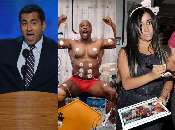 Kal Penn, Terry Crews, Snooki Nicole Polizzi