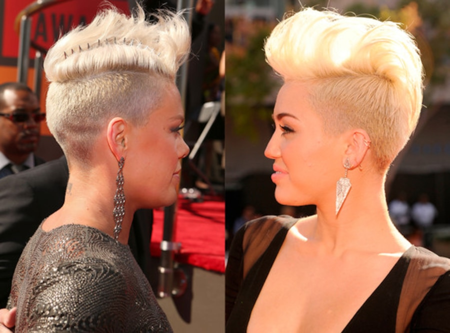 Pink, Miley Cyrus