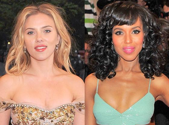 Scarlett Johansson, Kerry Washington