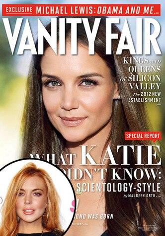 Lindsay Lohan, Katie Holmes, Vanity Fair