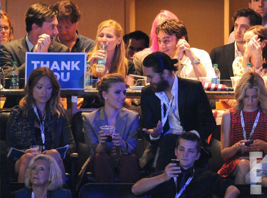 EXCLUSIVE WATERMARK, DNC, Scarlett Johansson, Jaret Leto