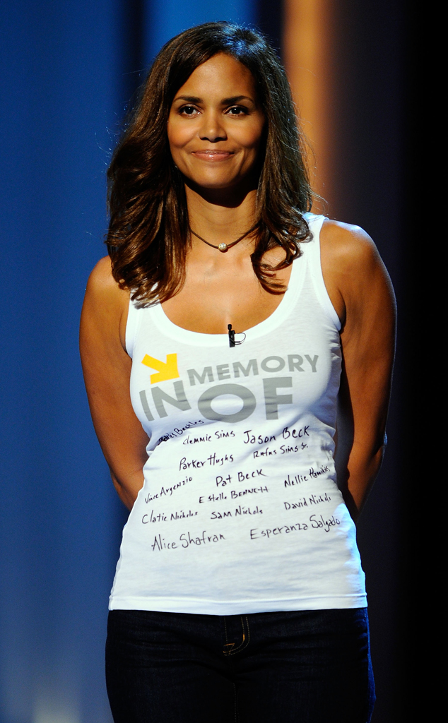 Halle Berry , Stand Up to Cancer