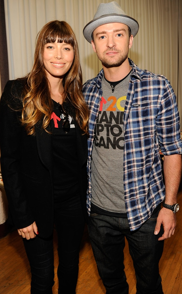 Jessica Biel, Justin Timberlake, Stand Up to Cancer