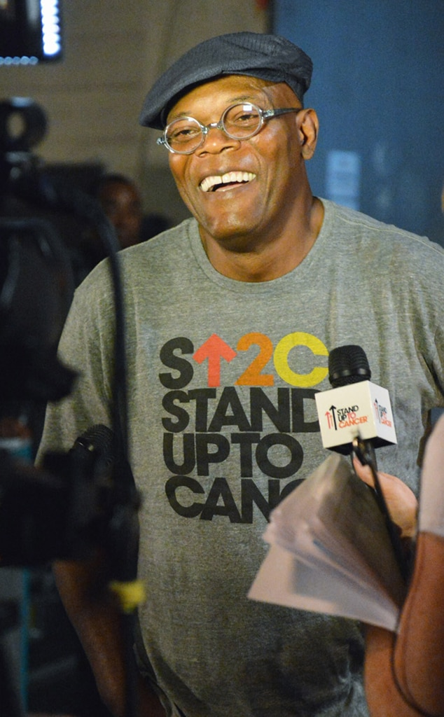 Samuel L. Jackson, Stand Up to Cancer
